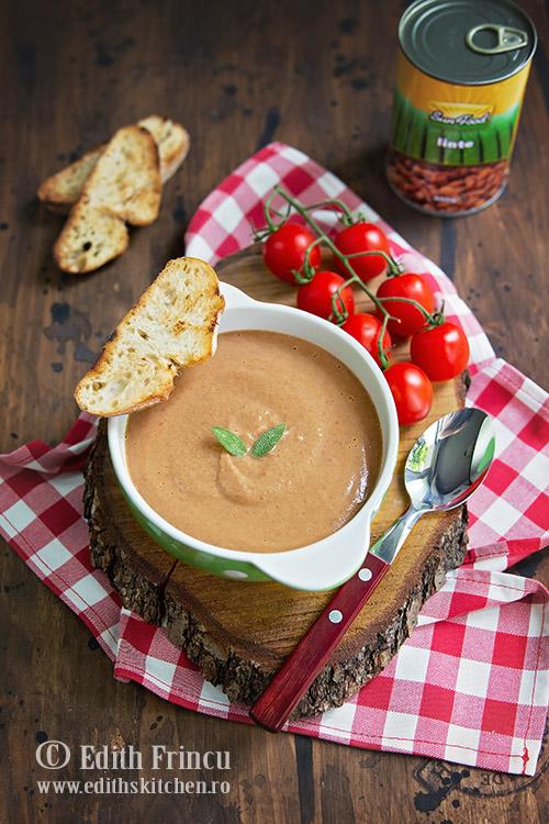 supa rece de linte 2 - Supa rece de linte