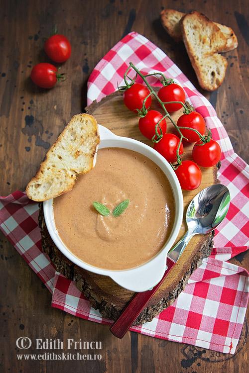 supa rece de linte - Supa rece de linte