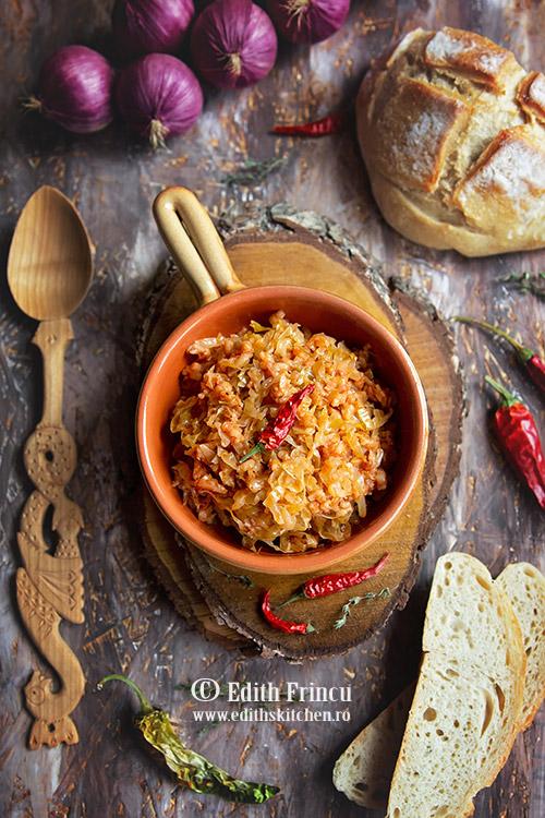 Varza cu orez 1 - Varza murata cu orez