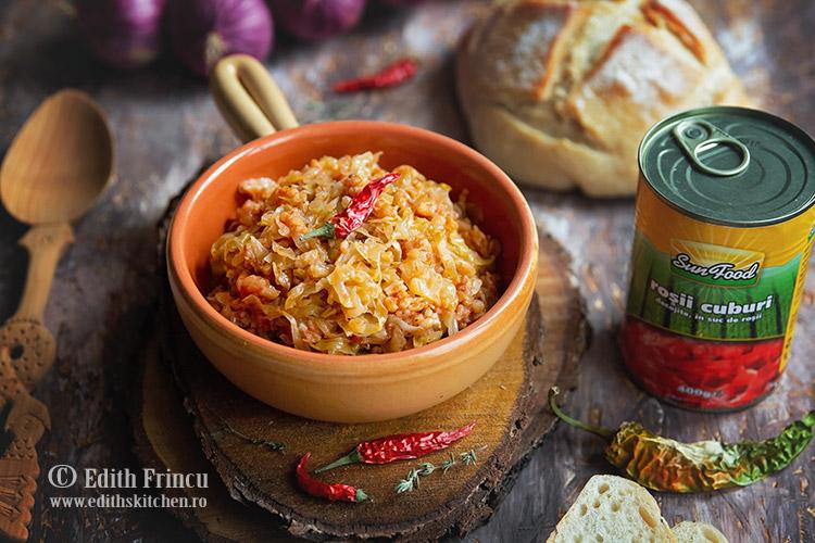 Varza cu orez 2 - Varza murata cu orez