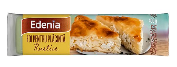 foi rustice pentru placinta Edenia 1 - Placinta cu praz si cartofi