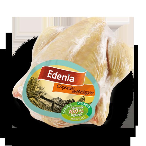 coquelet de Bretagne Edenia - Coquelet la cuptor cu sos de mustar