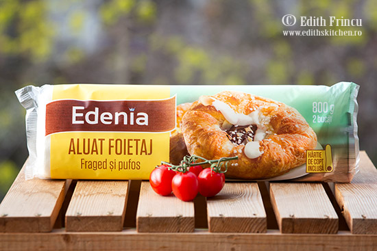 foietaj Edenia - Mini tarte cu sparanghel