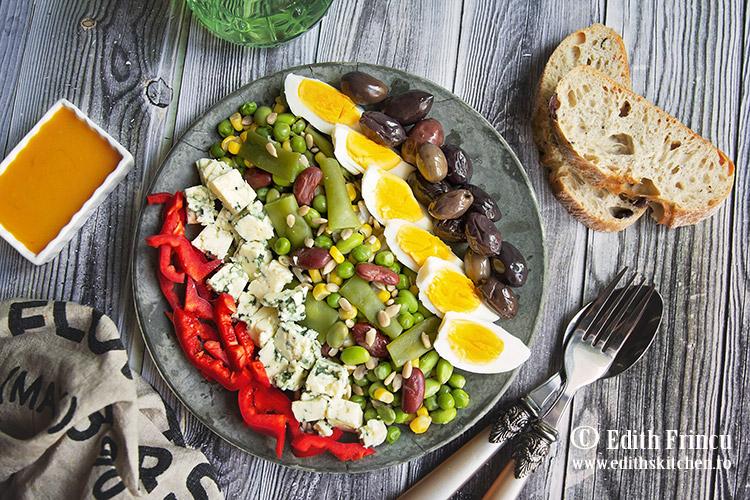 salata wellness cu ou si masline 2 - Salata wellness cu oua si masline