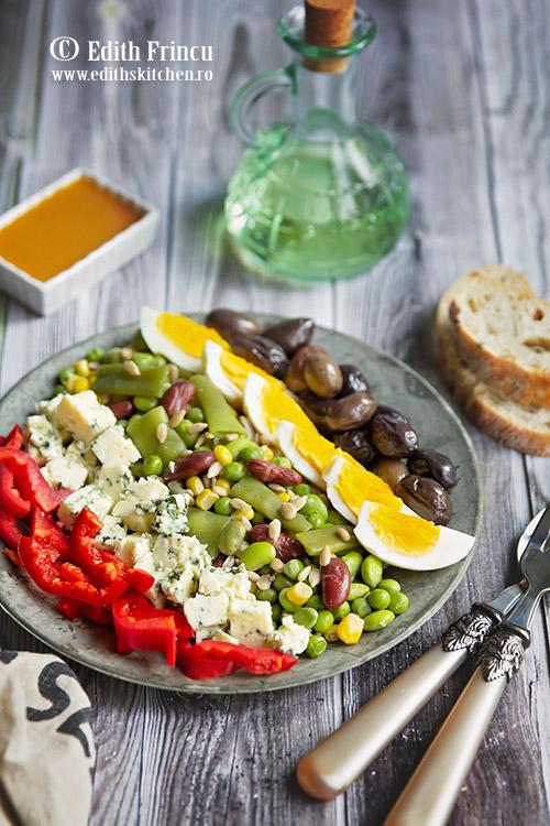 salata wellness cu ou si masline - Salata wellness cu oua si masline