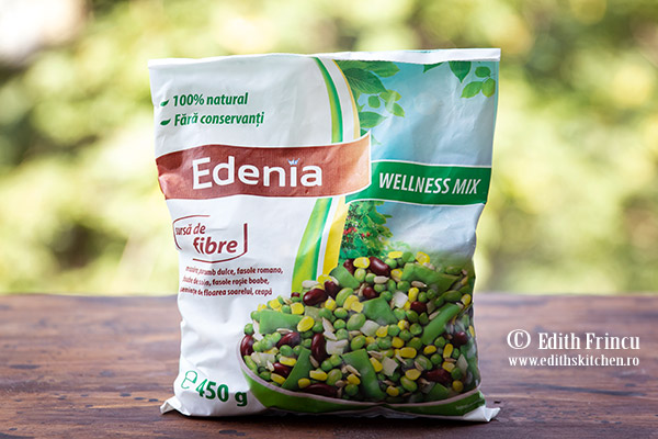 Edenia Wellness Mix - Salata wellness cu oua si masline
