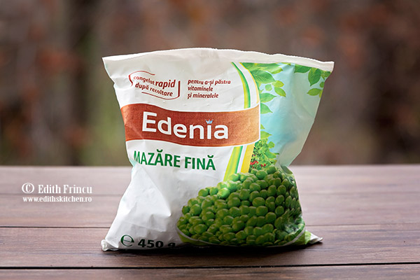 mazare Edenia - Supa de pui cu smantana si mazare