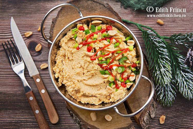 hummus cu unt de arahide 2 - Hummus cu unt de arahide