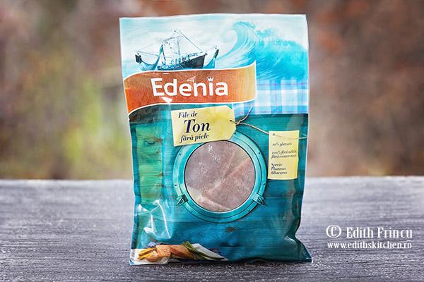 ton Edenia - Ton marinat cu salsa de mango