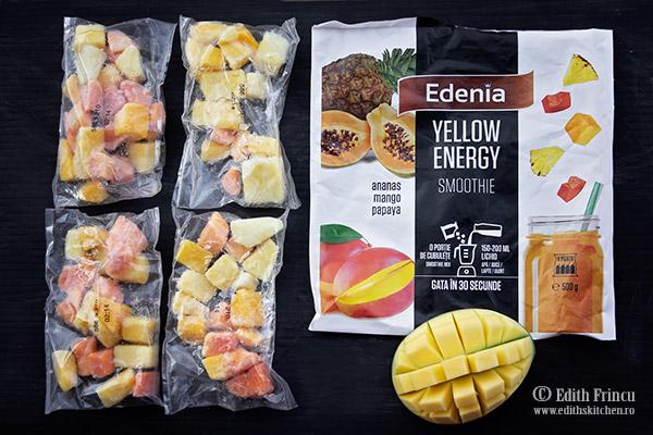 smoothie Edenia - Smoothie bowl cu mango si ananas