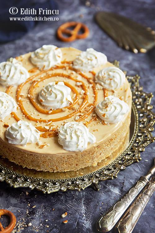 cheesecake cu dulce de leche 2 - Cheesecake cu dulce de leche