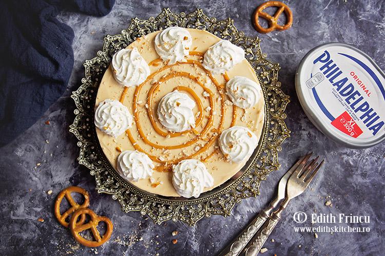 cheesecake cu dulce de leche 3 - Cheesecake cu dulce de leche