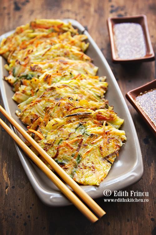 clatite cu legume 1 - Clatite cu legume