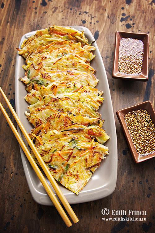 clatite cu legume - Clatite cu legume