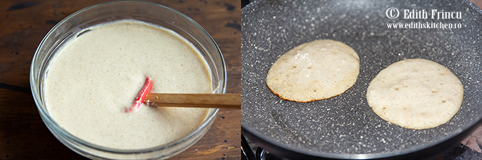 aluat pancakes cu ovaz si banane - Pancakes cu banane si fulgi de ovaz