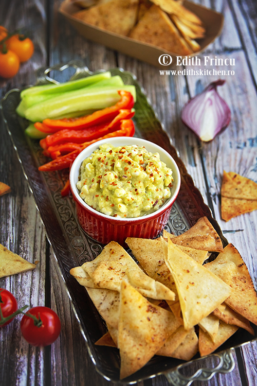 dip cu avocado si cottage cheese 1 - Dip cu avocado si cottage cheese