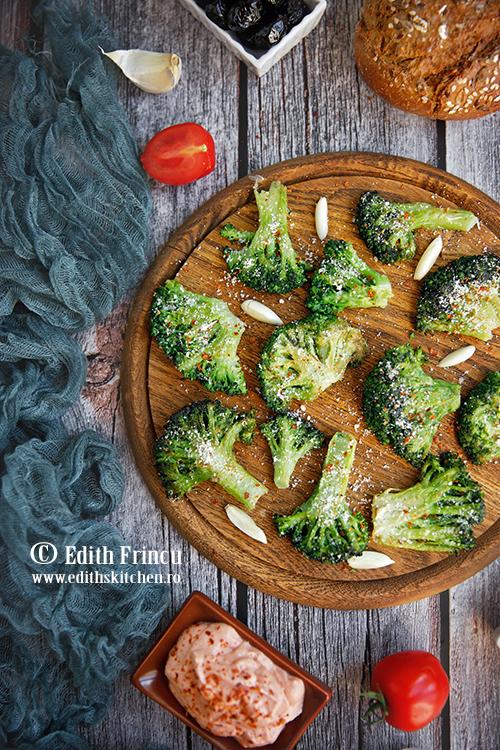 broccoli prajit cu parmezan 2 - Broccoli prajit cu parmezan